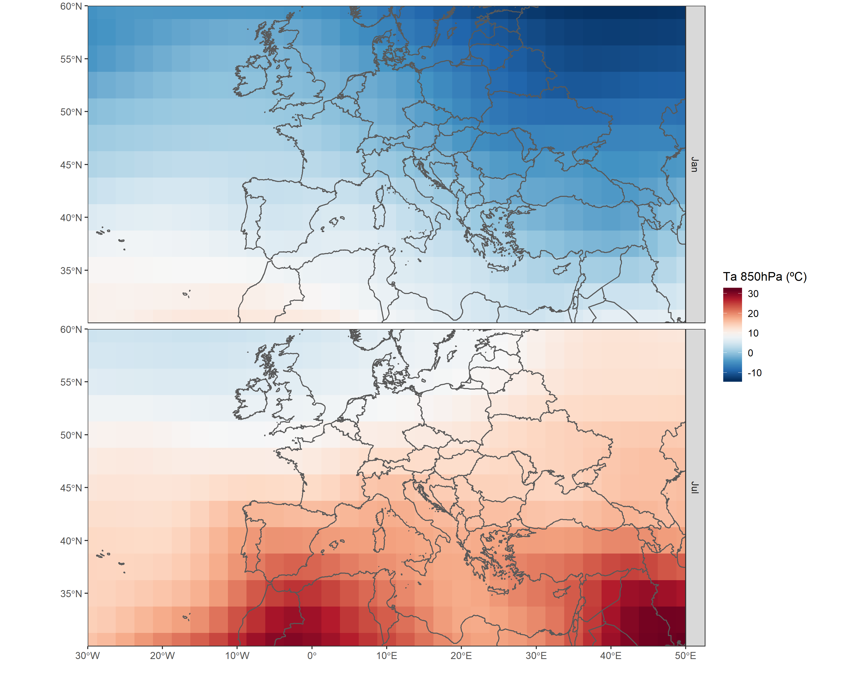 Access to climate reanalysis data from R | Dominic Royé