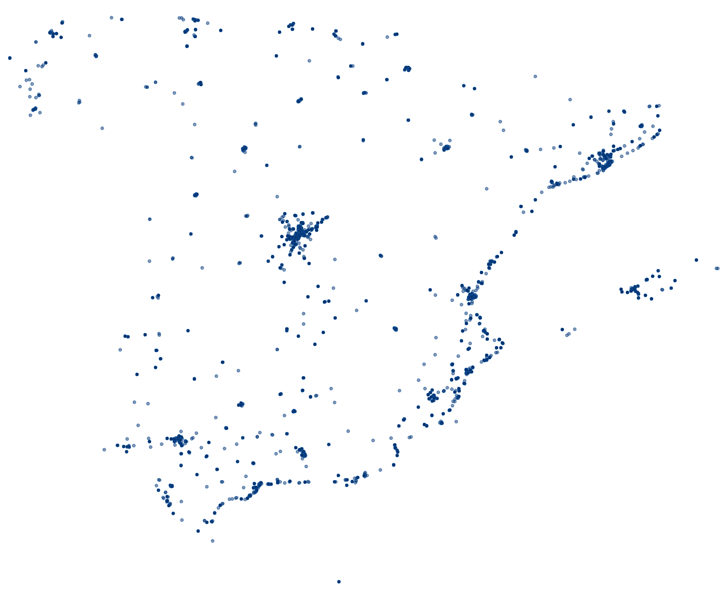 Accessing OpenStreetMap data with R | Dominic Royé